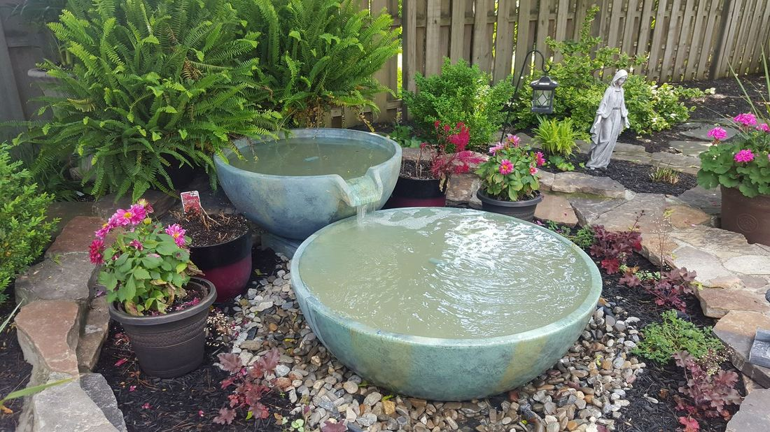 A Fountainscape Can Also Serve As A Focal Point In A Front Yard, Plaza Or  Courtyard.